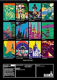 GRAZ POP ART (Wandkalender 2019 DIN A2 hoch) - Produktdetailbild 13