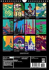 GRAZ POP ART (Wandkalender 2019 DIN A4 hoch) - Produktdetailbild 13