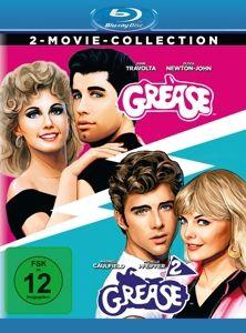 Grease + Grease 2 - 2 Disc Bluray, Maxwell Caulfield Frankie Avalon