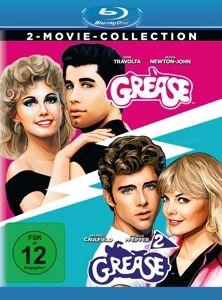Grease + Grease 2 - 2 Disc Bluray, Maxwell Caulfield Frankie Avalon