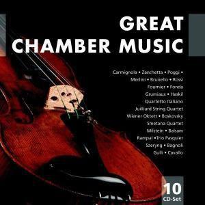 Great Chamber Music, 10 CDs, Milstein, Fournier, Fonda, Grumiaux, Haskil