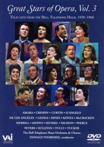 Great Stars Of Opera Vol.3, The Bell Telephone Hour 1959-1968