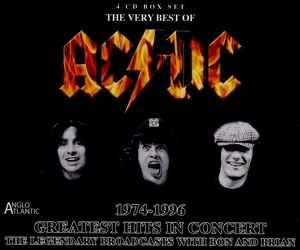 Greatest Hits In Concert 1974-96, AC/DC