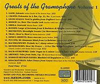 Greats Of The Gramophone Vol.1 - Produktdetailbild 1