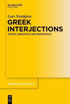 Greek Interjections, Lars Nordgren