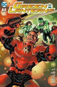 Green Lanterns - Aufruhr im Weltraum, Tim Seeley, Ronan Cliquet, Carlo Barberi