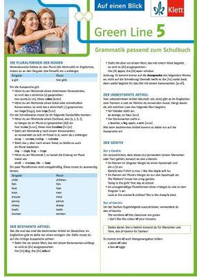 Green Line, Bundesausgabe ab 2014: .5 Klett Green Line 5 G8 Klasse 9 Auf einen Blick -  pdf epub