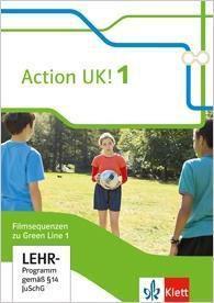Green Line, Bundesausgabe ab 2014: Bd.1 5. Klasse, Action UK! Filmsequenzen zu Green Line 1, 1 DVD