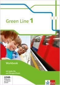 Green Line, Bundesausgabe ab 2014: Bd.1 5. Klasse, Workbook m. 2 Audio-CDs und Lernsoftware