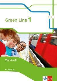 Green Line, Bundesausgabe ab 2014: Bd.1 5. Klasse, Workbook m. 2 Audio-CDs