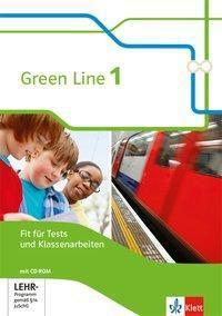 Green Line, Bundesausgabe ab 2014: Bd.1 5. Klasse, Fit für Tests und Klassenarbeiten mit CD-ROM und Lösungen