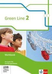 Green Line, Bundesausgabe ab 2014: Bd.2 6. Klasse, Workbook m. 3 Audio-CDs und Lernsoftware