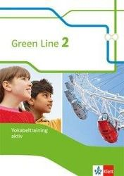 Green Line, Bundesausgabe ab 2014: Bd.2 6. Klasse, Vokabeltraining aktiv