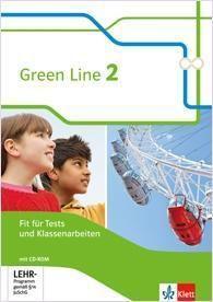 Green Line, Bundesausgabe ab 2014: Bd.2 6. Klasse, Fit für Tests und Klassenarbeiten mit CD-ROM und Lösungen