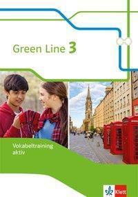Green Line, Bundesausgabe ab 2014: Bd.3 7. Klasse, Vokabeltraining aktiv
