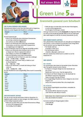 Green Line G9, Ausgabe ab 2015: .5 Klett Green Line 5 G9 Klasse 9 Auf einen Blick