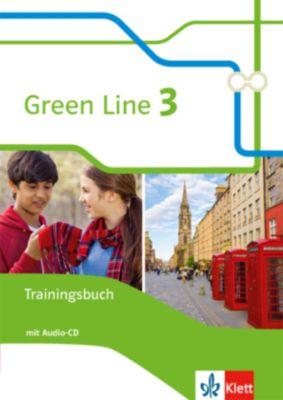 Green Line, Neue Ausgabe für Gymnasien (2014): Bd.3 7. Klasse, Trainingsbuch mit Audio-CD