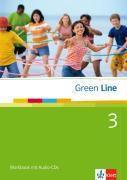 Green Line, Neue Ausgabe für Gymnasien: Bd.3 Workbook, m. 2 Audio-CDs