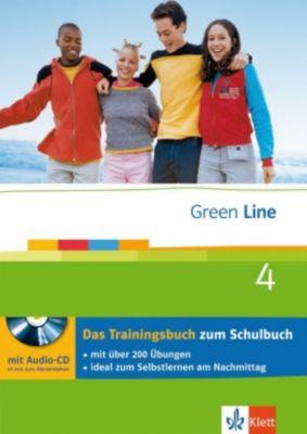 Green Line, Neue Ausgabe für Gymnasien: Bd.4 Klasse 8, Das Trainingsbuch m. Audio-CD