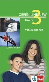 Green Line New, Ausgabe für Bayern: Bd.3 Vokabellernheft, 7. Schuljahr
