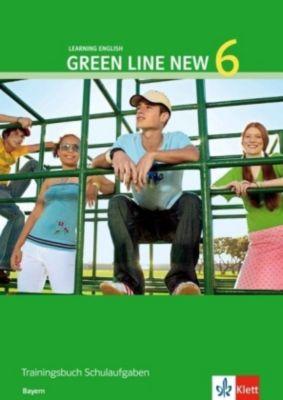 Green Line New, Ausgabe für Bayern: Bd.6 Trainingsbuch Schulaufgaben, 10. Schuljahr, m. Audio-CD