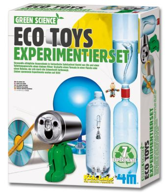 Green Science Eco Toys, Experimentierset