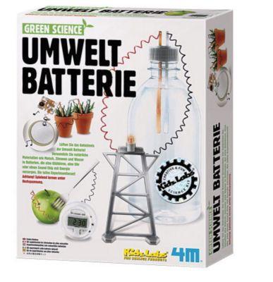 Green Science Umwelt Batterie, Bausatz