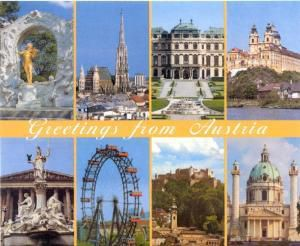 Greetings From Austria, Diverse Interpreten