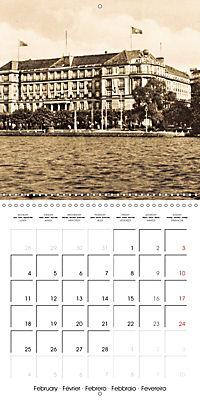 Greetings from old Hamburg - Historic views of the city (Wall Calendar 2019 300 × 300 mm Square) - Produktdetailbild 2