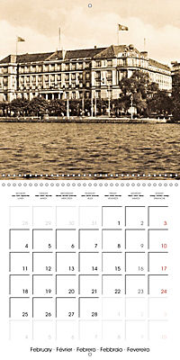 Greetings from old Hamburg - Historic views of the city (Wall Calendar 2019 300 × 300 mm Square) - Produktdetailbild 2