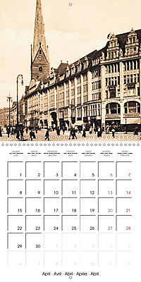Greetings from old Hamburg - Historic views of the city (Wall Calendar 2019 300 × 300 mm Square) - Produktdetailbild 4
