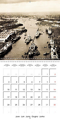 Greetings from old Hamburg - Historic views of the city (Wall Calendar 2019 300 × 300 mm Square) - Produktdetailbild 6