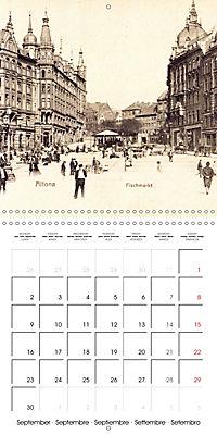 Greetings from old Hamburg - Historic views of the city (Wall Calendar 2019 300 × 300 mm Square) - Produktdetailbild 9
