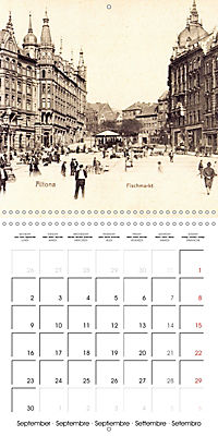 Greetings from old Hamburg - Historic views of the city (Wall Calendar 2019 300 × 300 mm Square) - Produktdetailbild 9