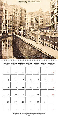 Greetings from old Hamburg - Historic views of the city (Wall Calendar 2019 300 × 300 mm Square) - Produktdetailbild 8