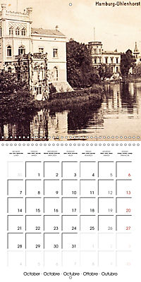 Greetings from old Hamburg - Historic views of the city (Wall Calendar 2019 300 × 300 mm Square) - Produktdetailbild 10