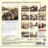 Greetings from old Hamburg - Historic views of the city (Wall Calendar 2019 300 × 300 mm Square) - Produktdetailbild 13