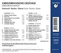 Gregorianische Gesänge - Fastenzeit - Produktdetailbild 1