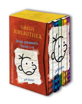 Gregs Bibliothek - Gregs gesammelte Werke, 5 Bde., Jeff Kinney