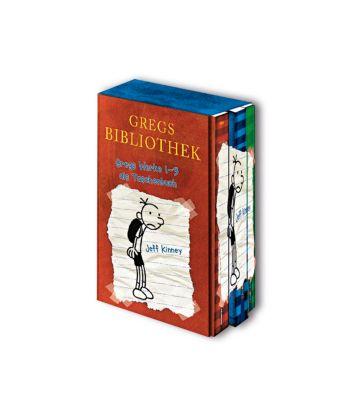 Gregs Bibliothek - Gregs Werke, 3 Bde., Jeff Kinney