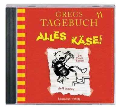 Gregs Tagebuch - Alles Käse!, 1 Audio-CD, Jeff Kinney
