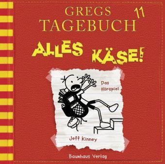 Gregs Tagebuch - Alles Käse!, Audio-CD, Jeff Kinney