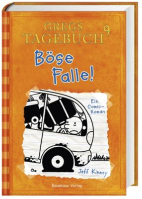 Gregs Tagebuch Band 9: Böse Falle! - Jeff Kinney |