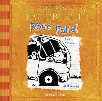 Gregs Tagebuch - Böse Falle!, Audio-CD, Jeff Kinney