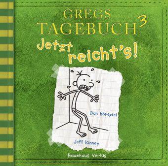 Gregs Tagebuch - Jetzt reicht's!, Audio-CD, Jeff Kinney