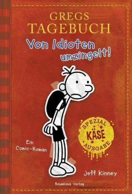 Gregs Tagebuch - Von Idioten umzingelt!, Jubiläumsausgabe - Jeff Kinney |