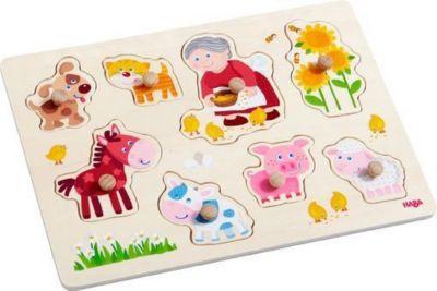 Greifpuzzle Oma Lenis Tiere (Kinderpuzzle)