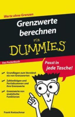 grenzwerte berechnen f r dummies buch bei. Black Bedroom Furniture Sets. Home Design Ideas
