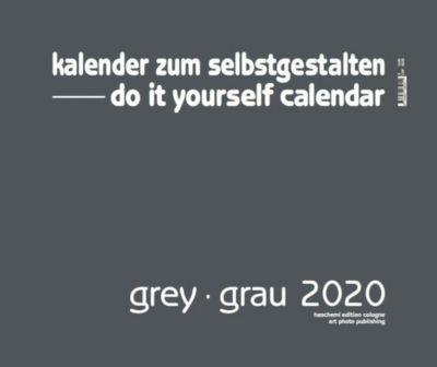 Grey - Grau 2019 - Blanko Gross XL Format, Baback Haschemi