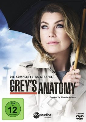 Grey's Anatomy - Die komplette Staffel 12